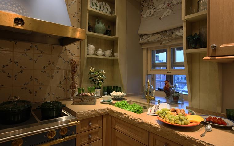 Квартира. кухня из проекта , фото №27125