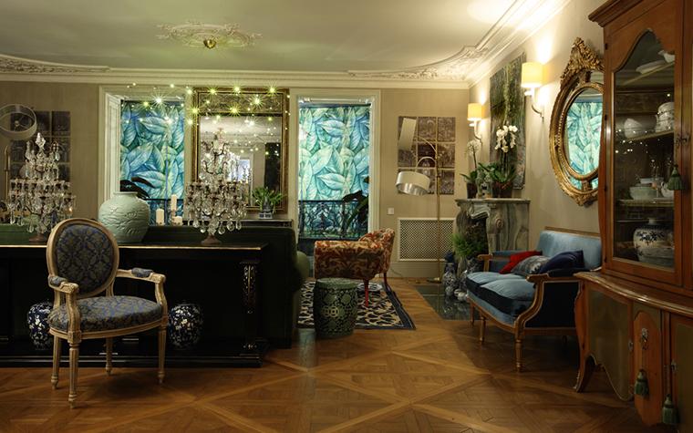 Квартира. гостиная из проекта , фото №27105