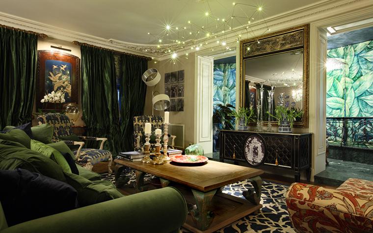 Квартира. гостиная из проекта , фото №27104