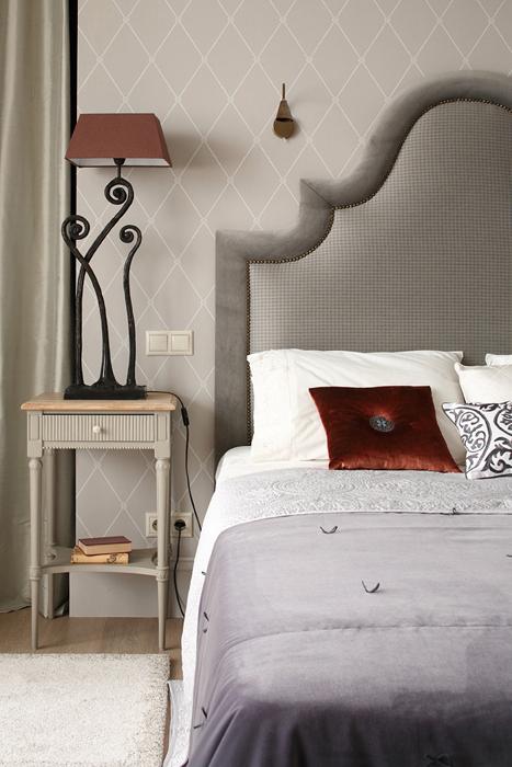 интерьер спальни - фото № 27185