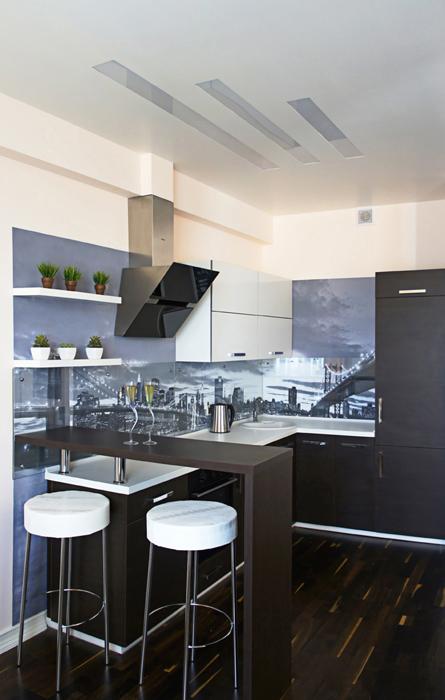 Квартира. кухня из проекта , фото №27193