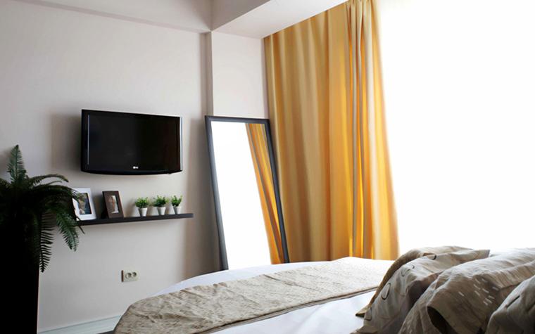 Квартира. спальня из проекта , фото №27194