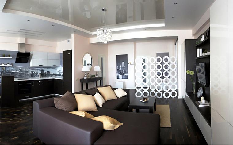 Квартира. гостиная из проекта , фото №27188