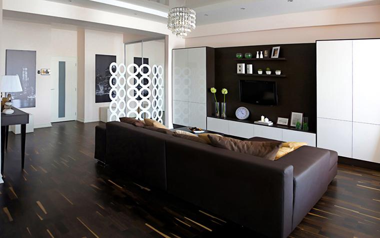 Квартира. гостиная из проекта , фото №27189