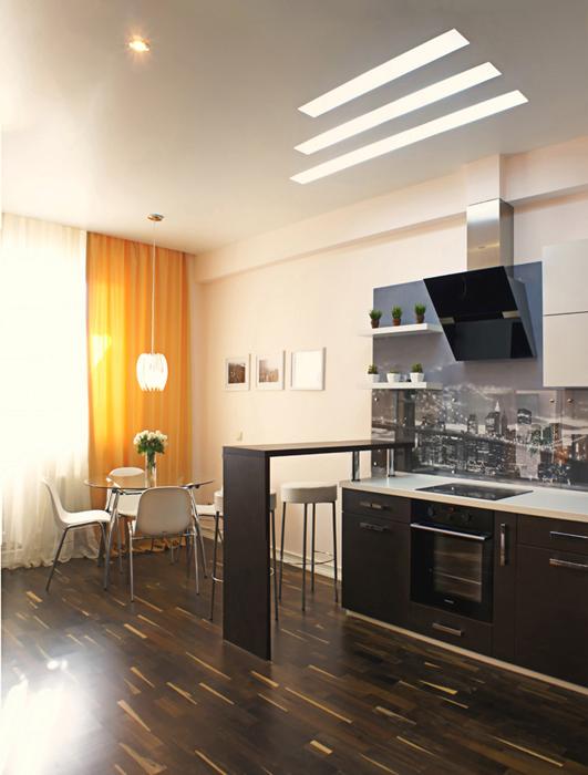 Квартира. кухня из проекта , фото №27191