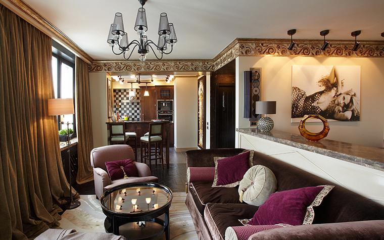 Квартира. гостиная из проекта , фото №27222