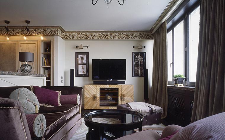 Квартира. гостиная из проекта , фото №27223