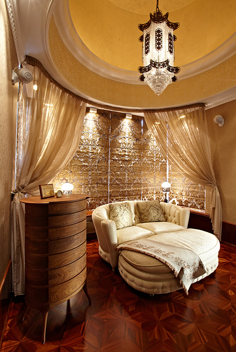 интерьер спальни - фото № 27352