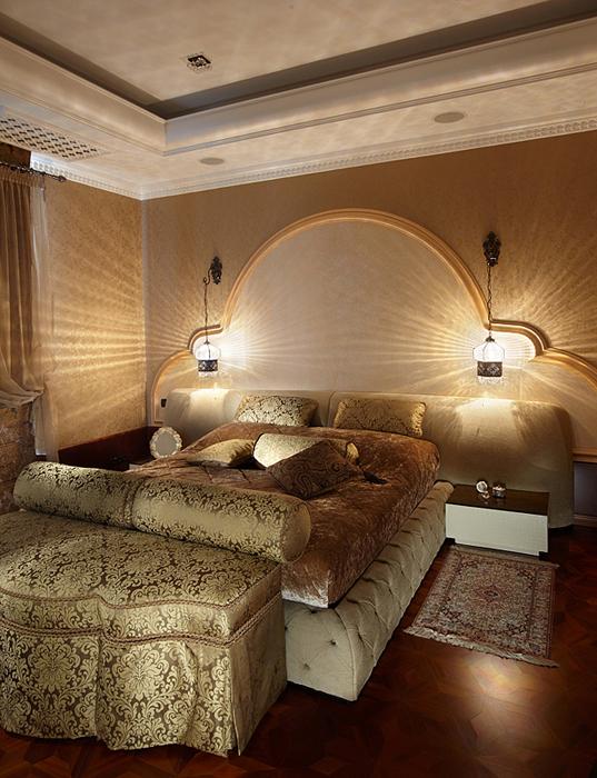 интерьер спальни - фото № 27348