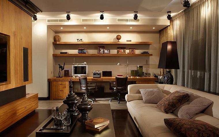 Квартира. гостиная из проекта , фото №27464
