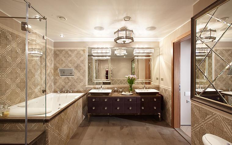 Квартира. ванная из проекта , фото №27475