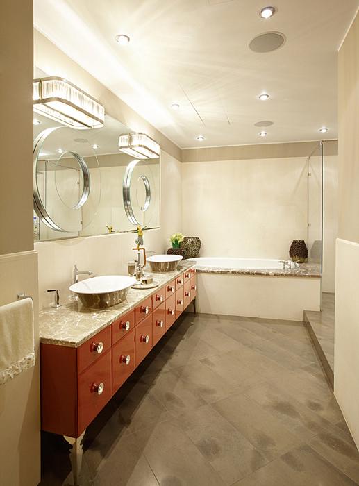 Квартира. ванная из проекта , фото №27477