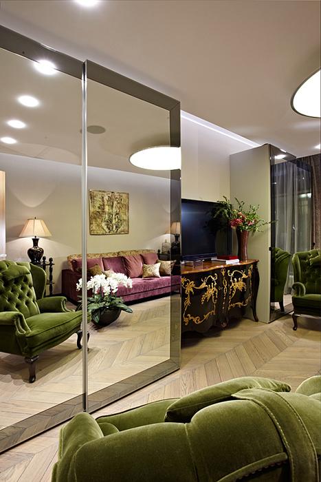 Фото № 27474 гостиная  Квартира
