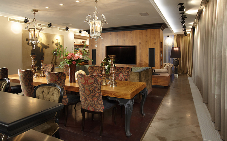 Квартира. столовая из проекта , фото №27466