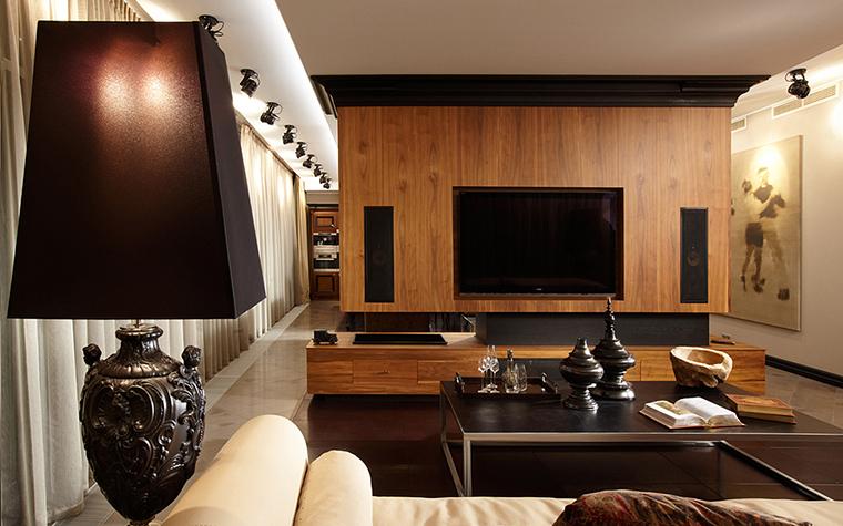Квартира. гостиная из проекта , фото №27463