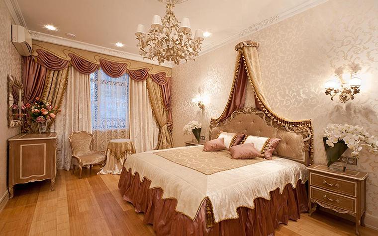 Квартира. спальня из проекта , фото №27489