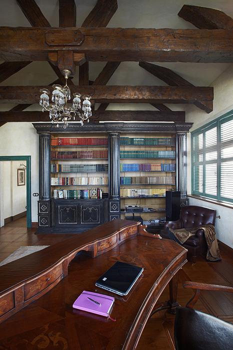 Фото № 27512 кабинет библиотека  Квартира