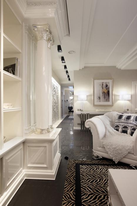 Фото № 27524 гостиная  Квартира