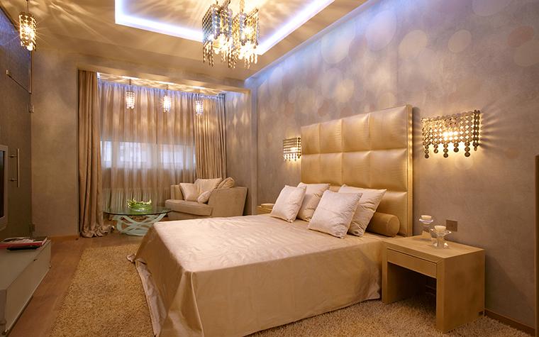 Квартира. спальня из проекта , фото №27530