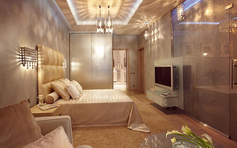 Квартира. спальня из проекта , фото №27531
