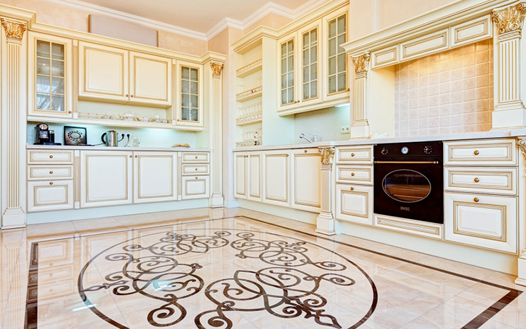 Фото № 27560 кухня  Квартира