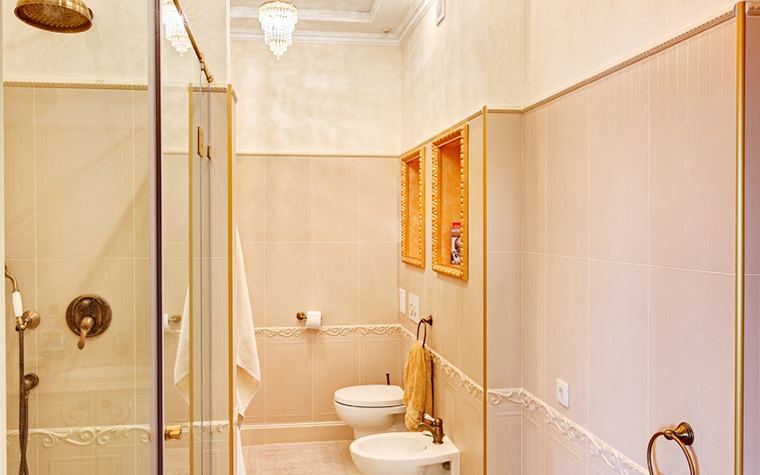 Квартира. ванная из проекта , фото №27562