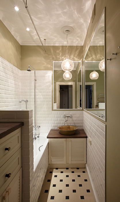 Квартира. ванная из проекта , фото №27586