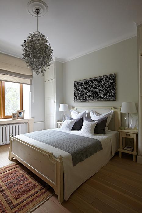 интерьер спальни - фото № 28515