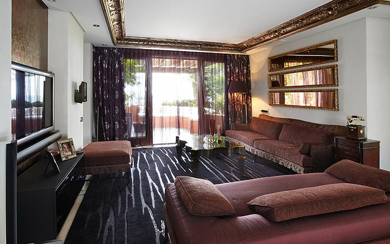 Квартира. гостиная из проекта , фото №27722