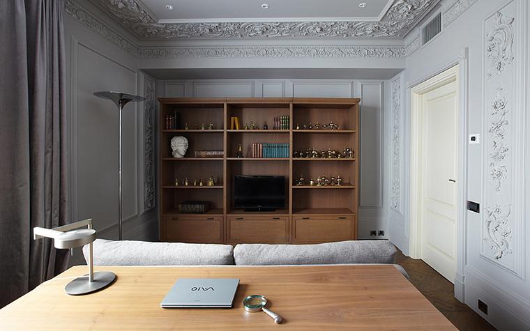 Квартира. кабинет из проекта , фото №27740