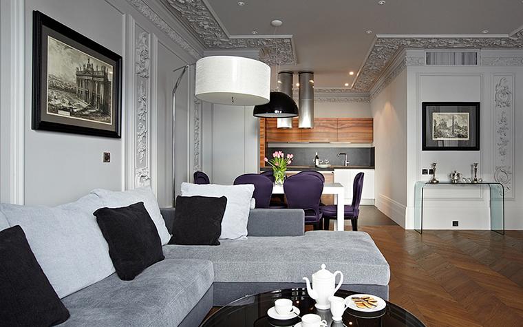 Квартира. гостиная из проекта , фото №27735