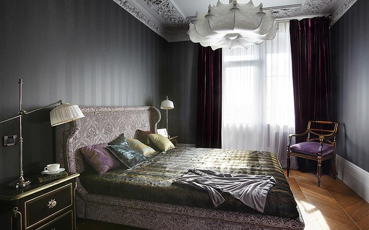 Квартира. спальня из проекта , фото №27742
