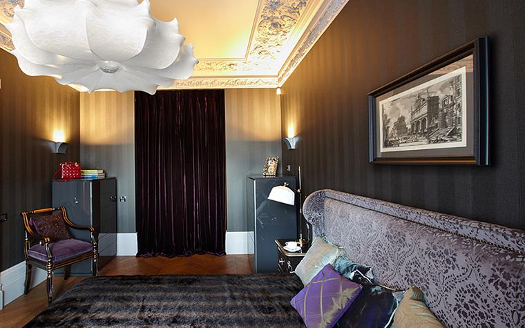 Квартира. спальня из проекта , фото №27743