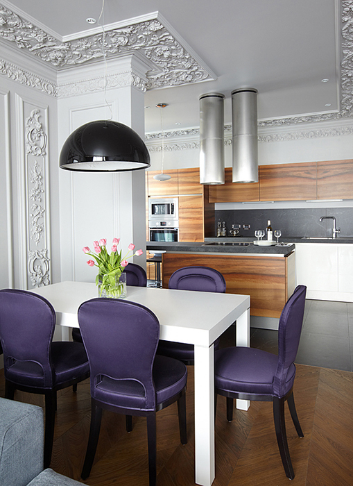 Квартира. кухня из проекта , фото №27736