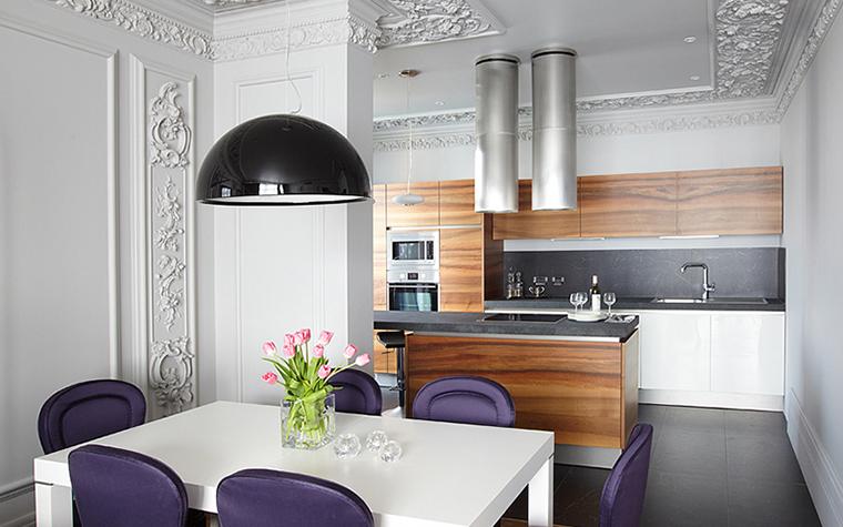 Квартира. кухня из проекта , фото №27737