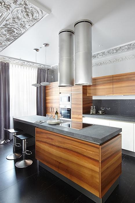 Квартира. кухня из проекта , фото №27738