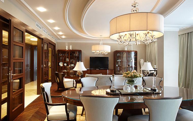 Квартира. столовая из проекта , фото №27848