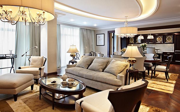 Квартира. гостиная из проекта , фото №27846