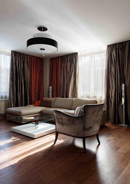 интерьер гостиной - фото № 27873