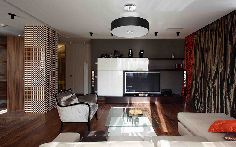 интерьер гостиной - фото № 27874