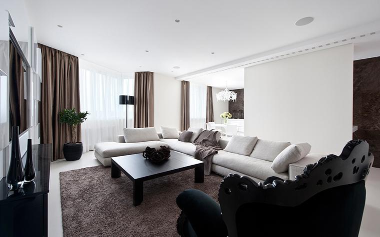 интерьер гостиной - фото № 27901