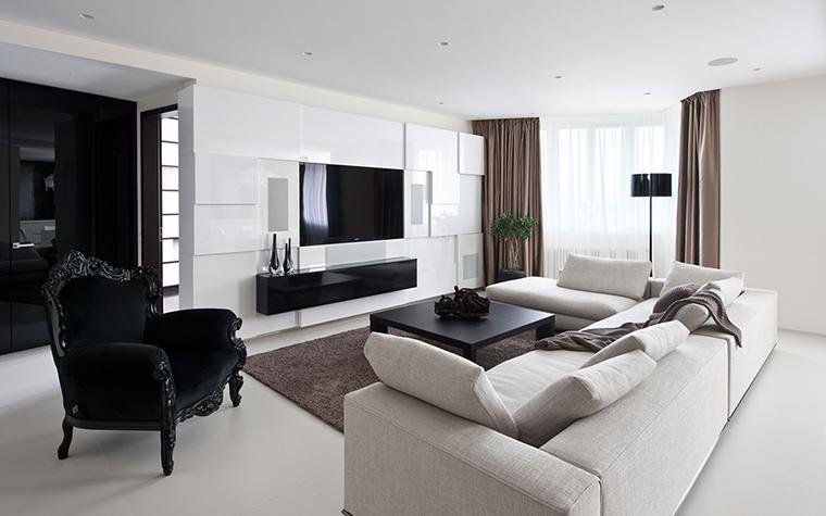 интерьер гостиной - фото № 27900