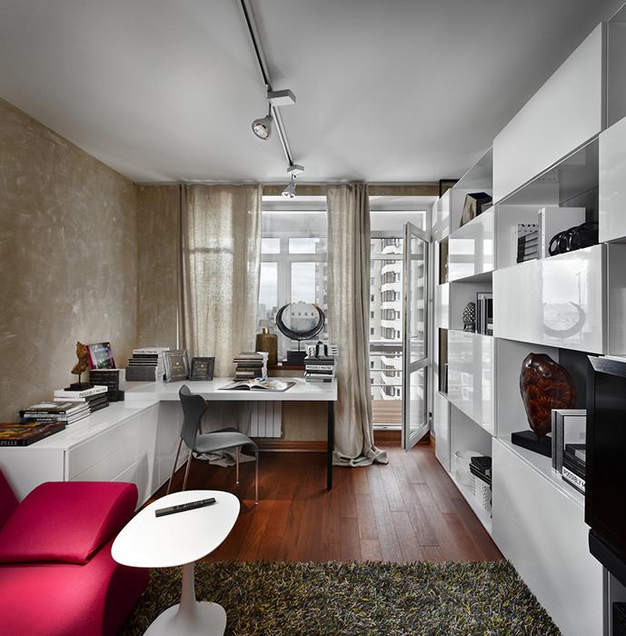 Квартира. кабинет из проекта , фото №27923