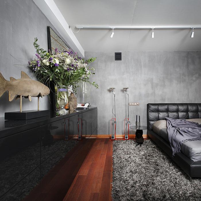 Квартира. спальня из проекта , фото №27924