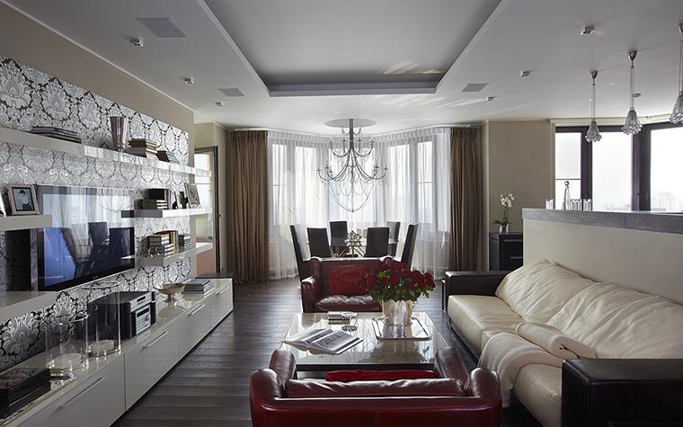 Квартира. гостиная из проекта , фото №27953