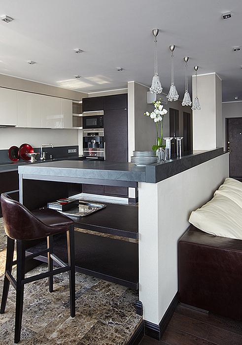 Квартира. кухня из проекта , фото №27962