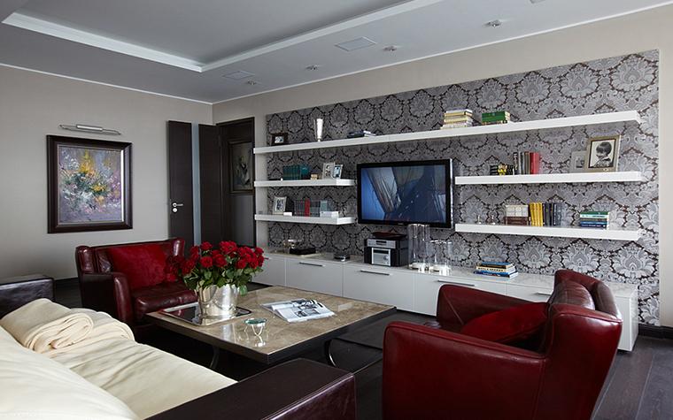 Квартира. гостиная из проекта , фото №27955