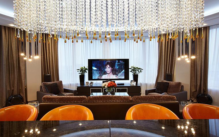 Квартира. гостиная из проекта , фото №28003