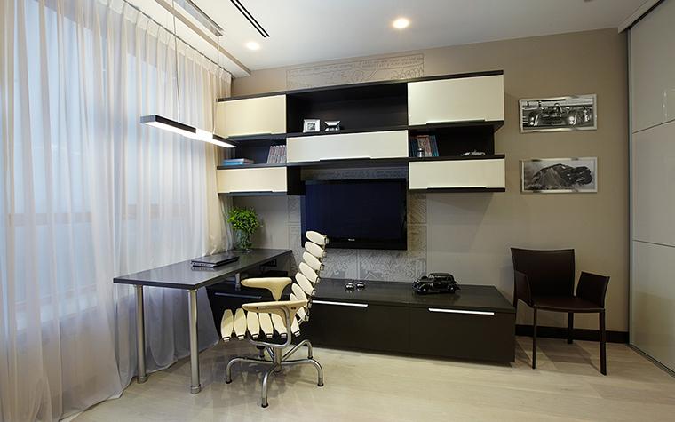 Квартира. кабинет из проекта , фото №28007