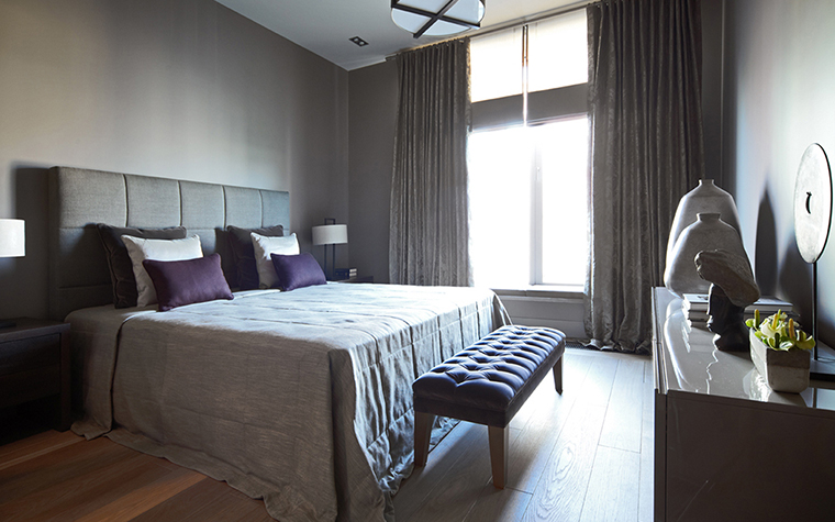 Квартира. спальня из проекта , фото №28029